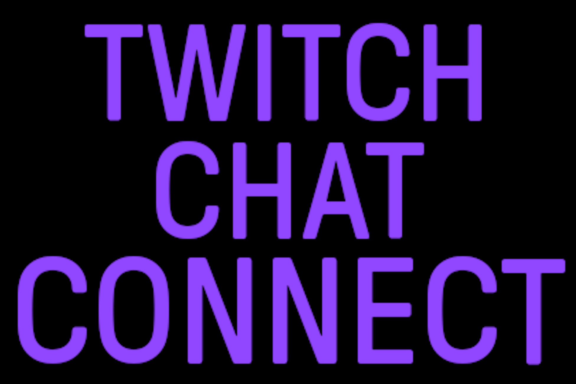 Twitch Chat Connect