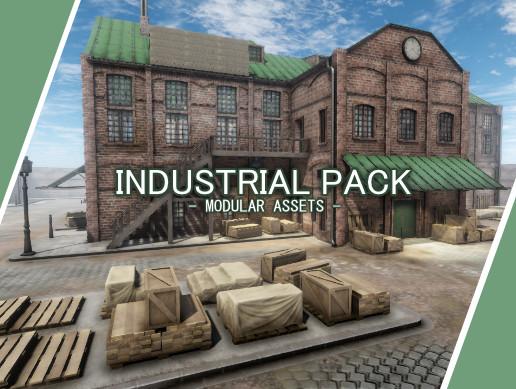 Industrial Pack - Modular Assets