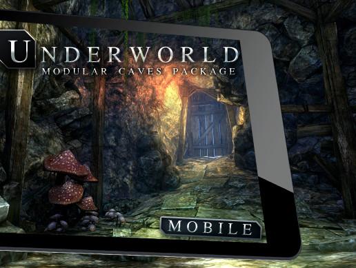 پکیج یونیتی Underworld Mobile: Cave Environment
