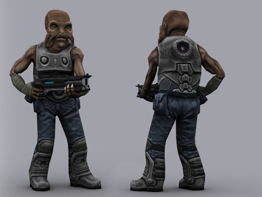 SCI FI: ALIEN MERCENARY