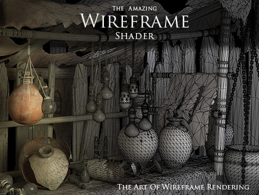 Wireframe shader - The Amazing Wireframe shader