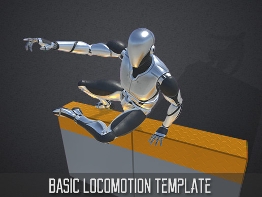 Third Person Controller - Basic Locomotion Template