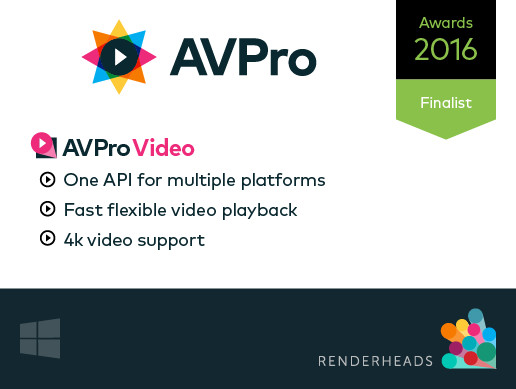 AVPro Video (Windows)