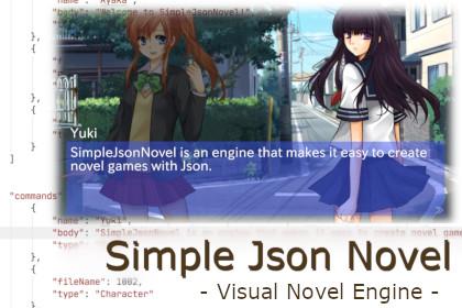 SimpleJsonNovel - Visual Novel Engine -