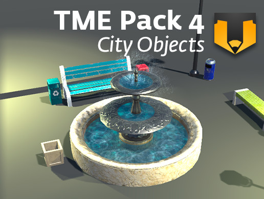 TME Pack 04: City Objects