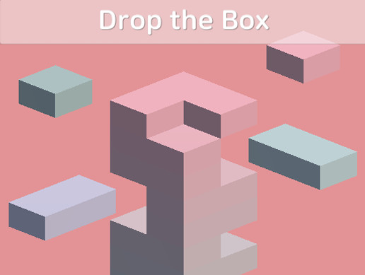 Drop the Box - One Touch Game