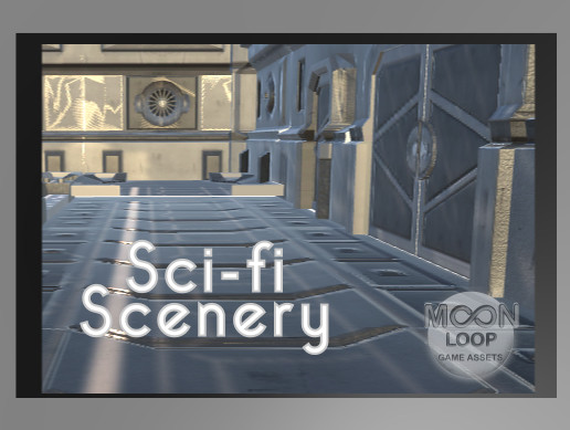 Sci-fi Scenery Pack