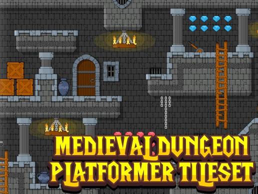 Medieval Dungeon - Platformer Tileset - Asset Store