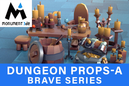 Dungeon Props_A - Brave Series
