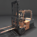 Worker&forklift_loader