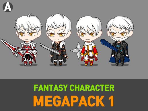 Fantasy Character MegaPack 1