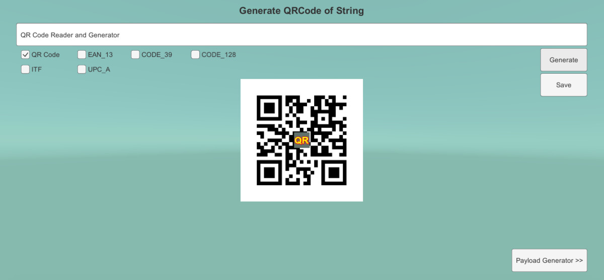 QR/Barcode Reader and Generator - Asset Store