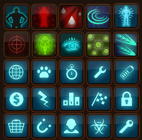 RPG Skills Icons pack - Asset Store