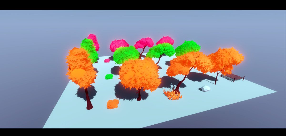 0d00acd1 b684 45d8 8807 401e4544ec12 scaled - Stylized Low Poly Nature asset v2.0 - unity低聚自然环境