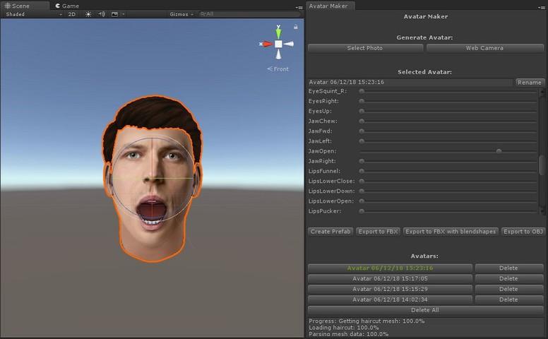 Avatar Maker Free - 3D avatar from a single selfie - Asset Store