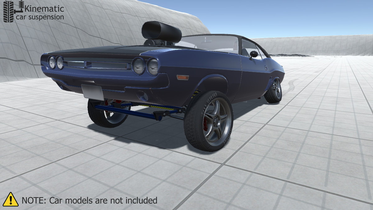 Kinematic Car Suspension - Sport Car - Asset Store