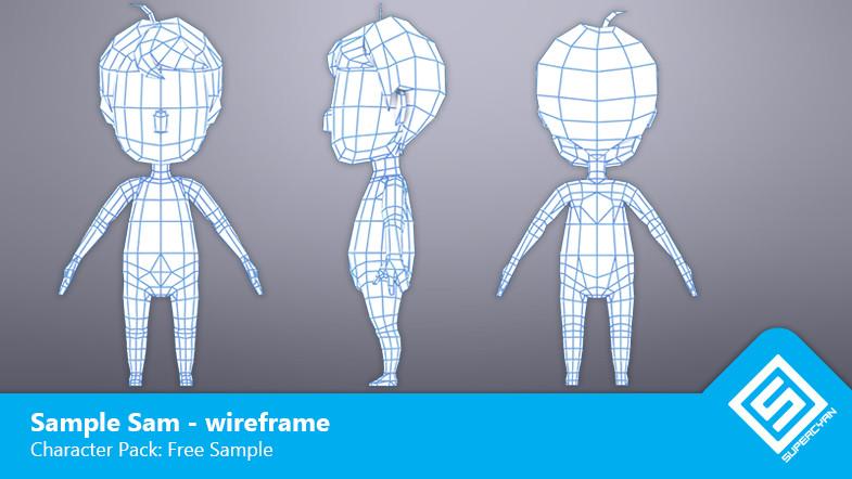 Cartoon solutions:: character packs.