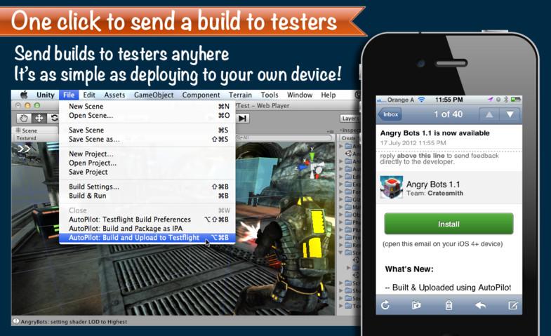 AutoPilot 3 for TestFlight - Asset Store