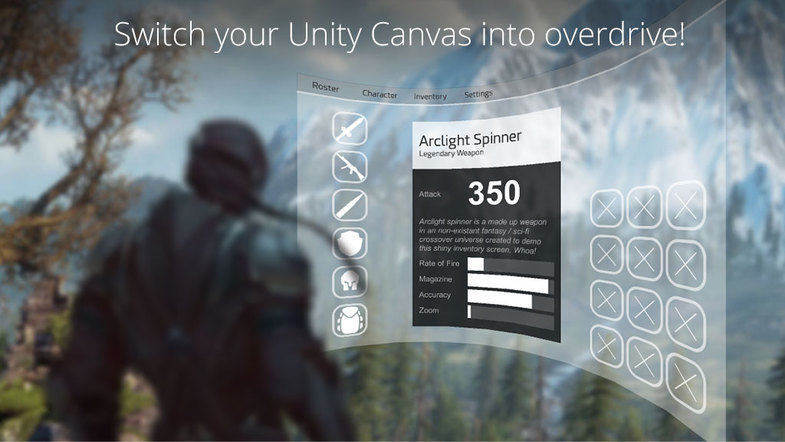 Curved UI - VR Ready Solution To Bend / Warp Your Canvas
