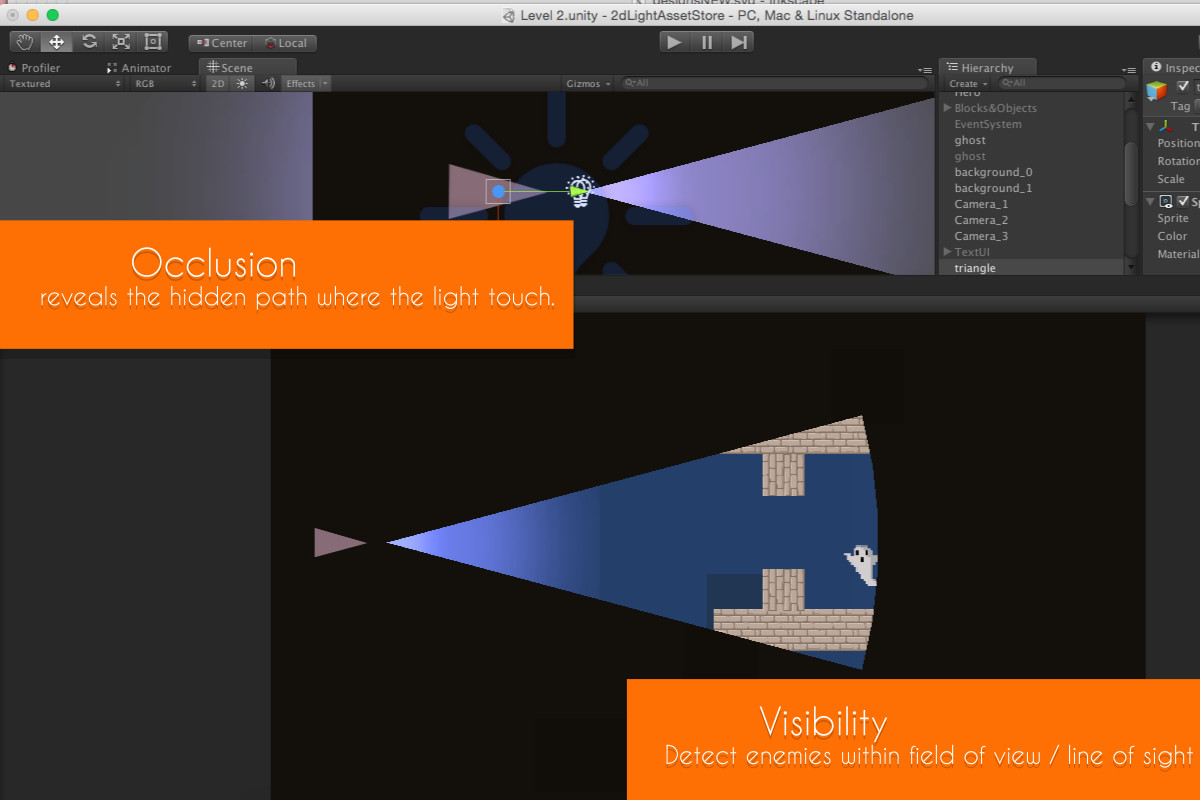 2DDL Pro : 2D Dynamic Lights and Shadows - Asset Store