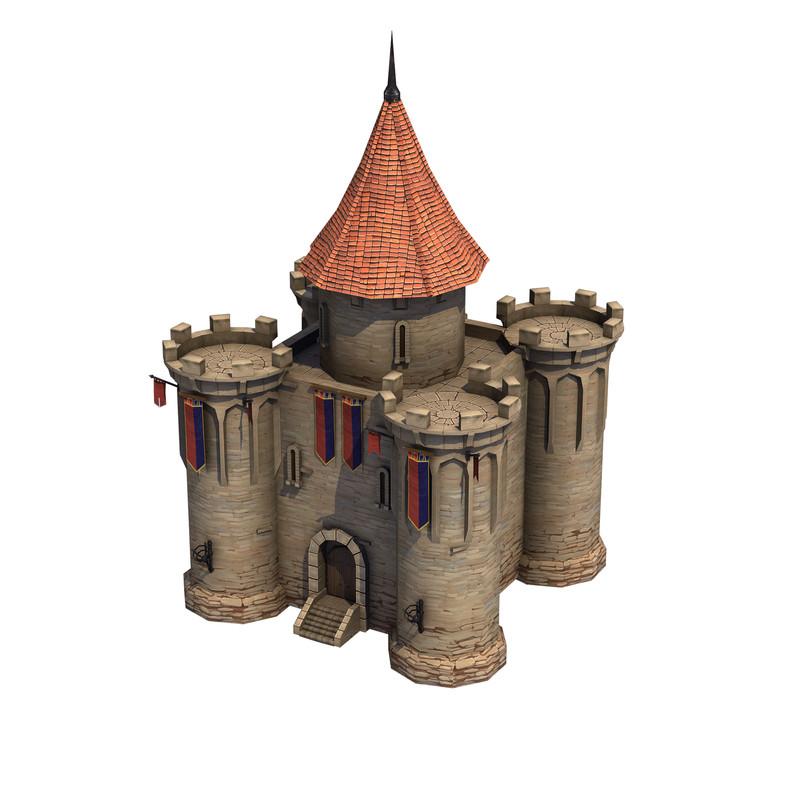 Top-Down Medieval Castle - Asset Store