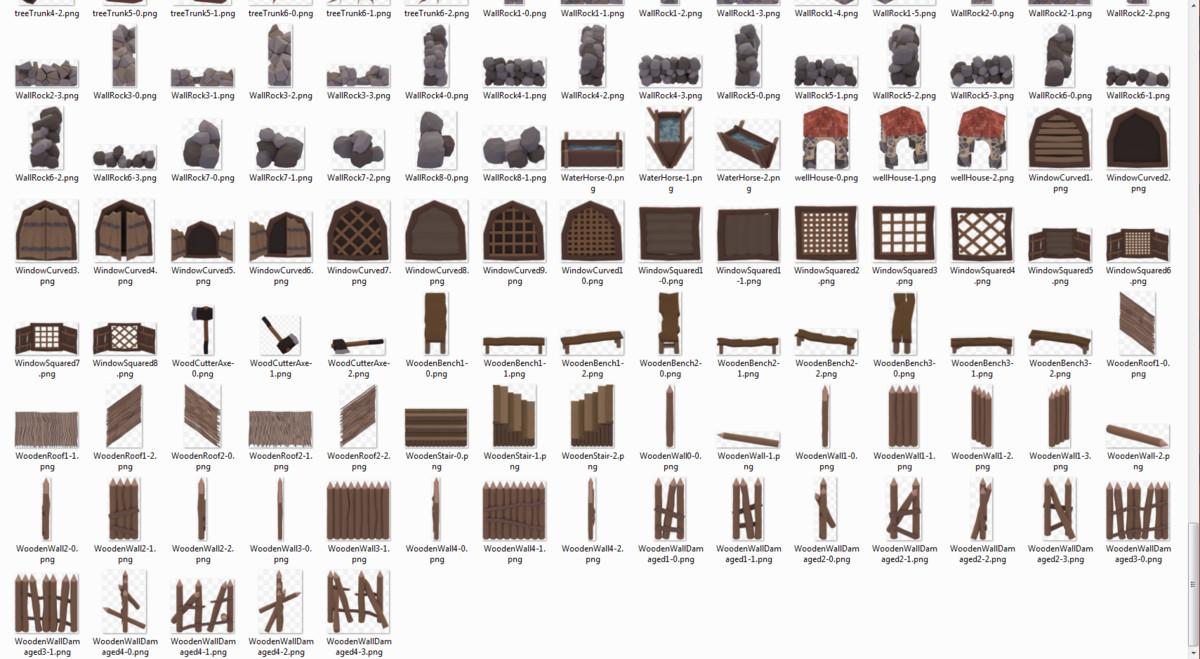 595+ Medieval 2D Game Asset Pack - Asset Store