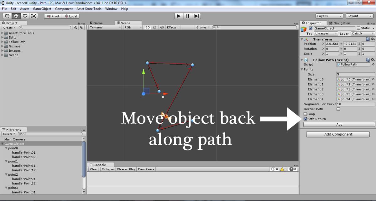 2D Follow Path - Asset Store