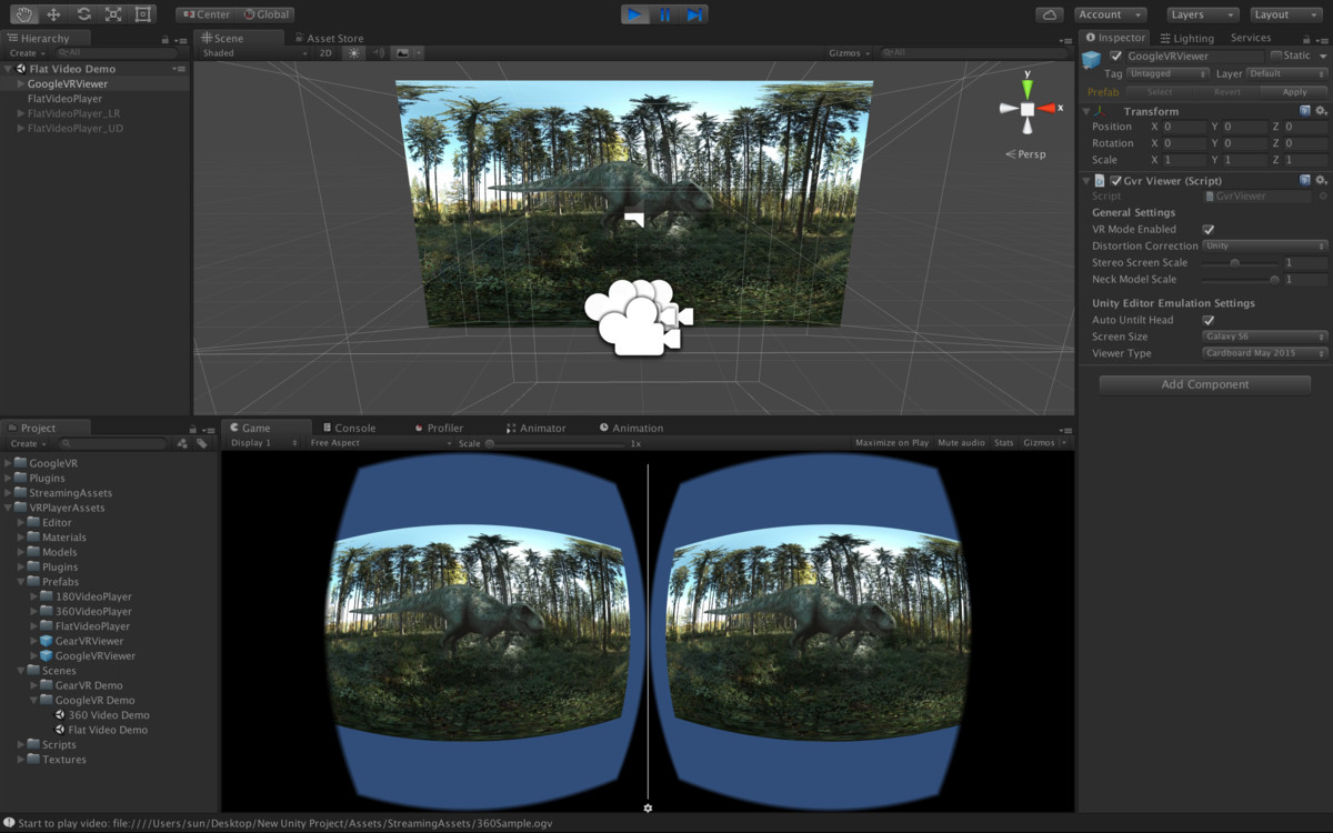 VR Video Player - Asset Store