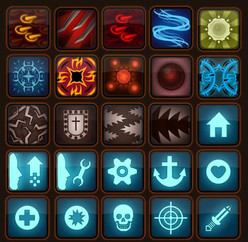 RPG Skills Icons pack - Asset Store