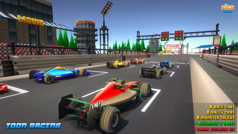 Toon Racing - Asset Store