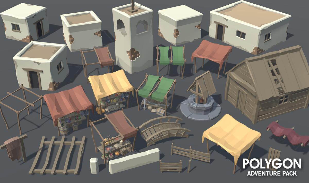 POLYGON - Adventure Pack - Asset Store
