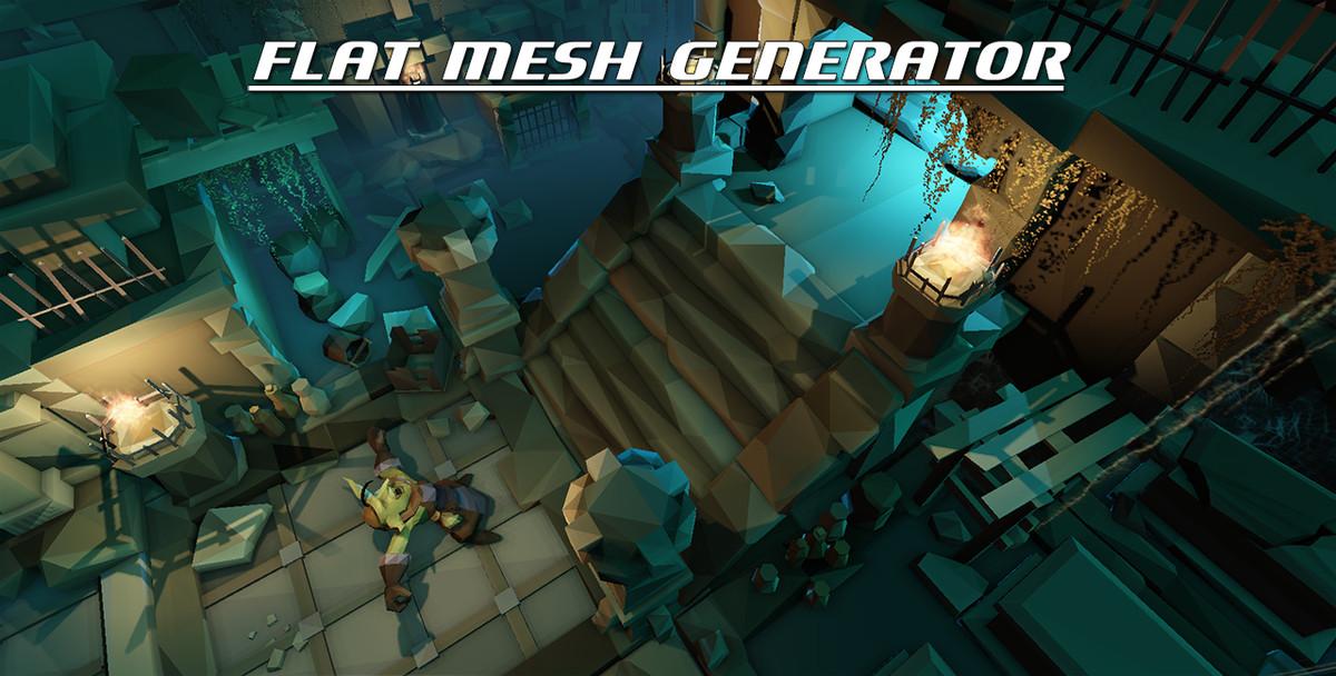 Low Poly Mesh Generator - Asset Store