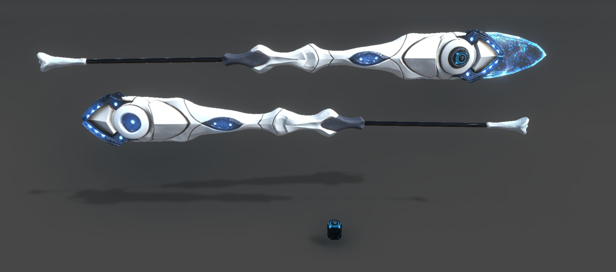 PBR Sci-Fi Plasma Spear (+URP support)