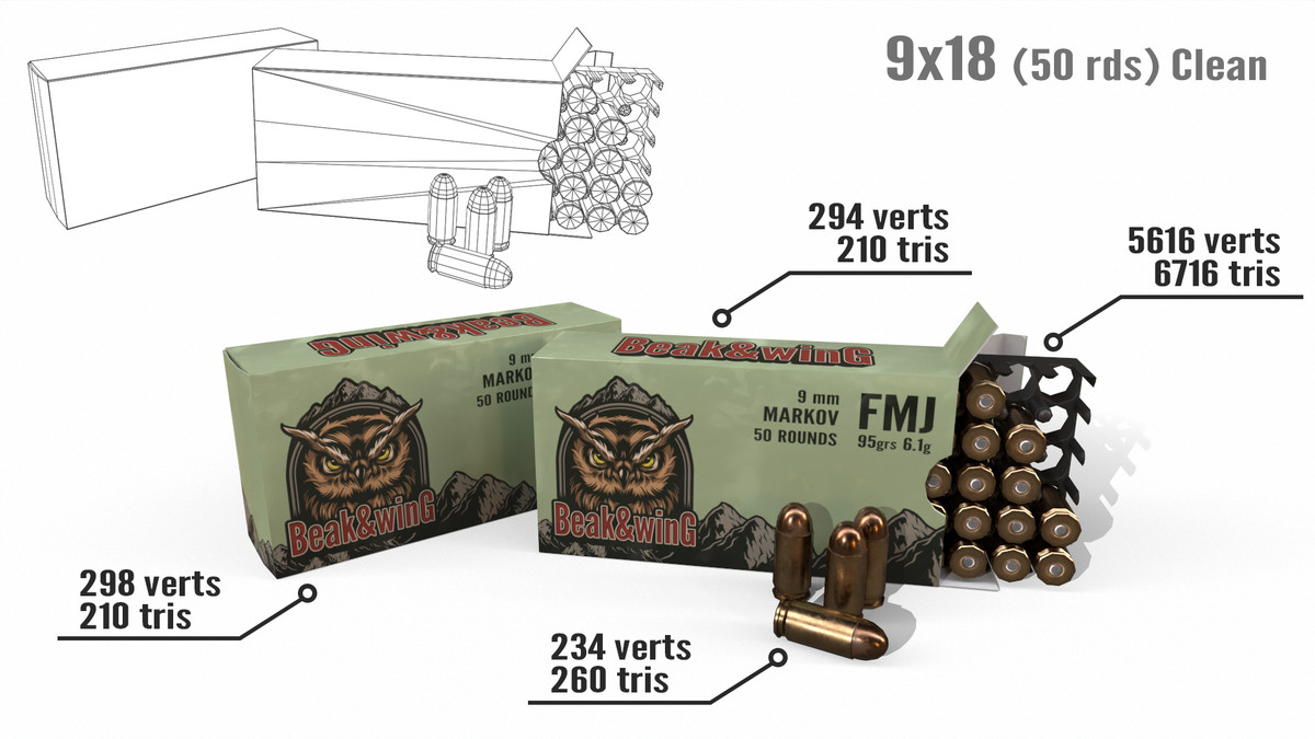 20 Ammo Boxes