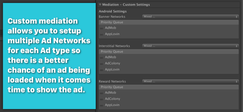 Mobile Ads - Monetization & Mediation - Asset Store