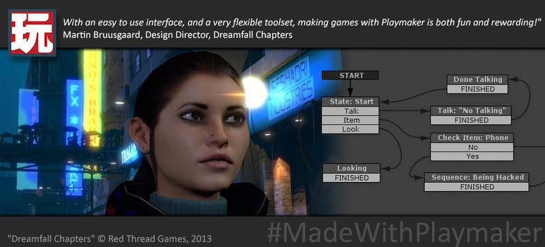 3951b1d3 39f8 4619 9a7c 3da90c9deb06 scaled - Unity游戏可视化编程插件:Playmaker v1.9.0.p10
