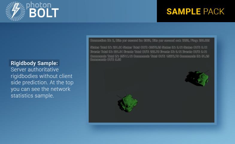 Photon Bolt Sample Pack - Asset Store