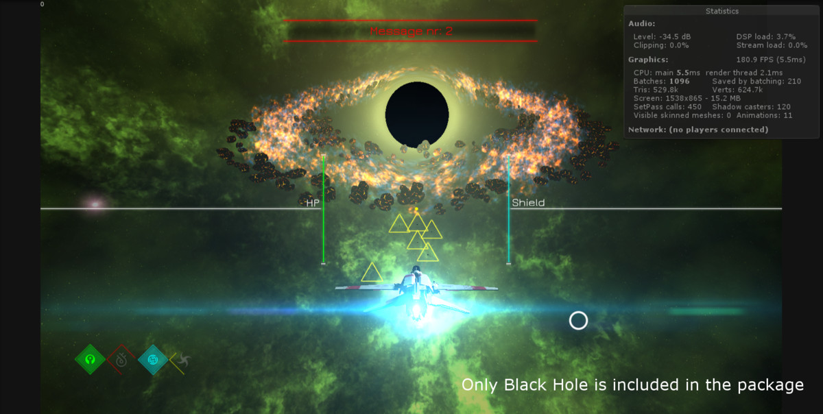 3D Black Hole Shader - Asset Store