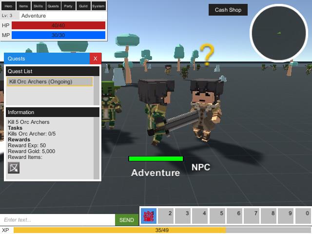 MMORPG KIT (2D/3D/Survival) - Asset Store