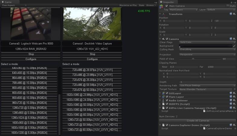 AVPro Live Camera - Asset Store