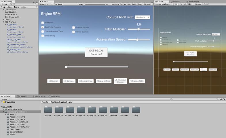 Realistic Engine Sounds - Lite - Asset Store