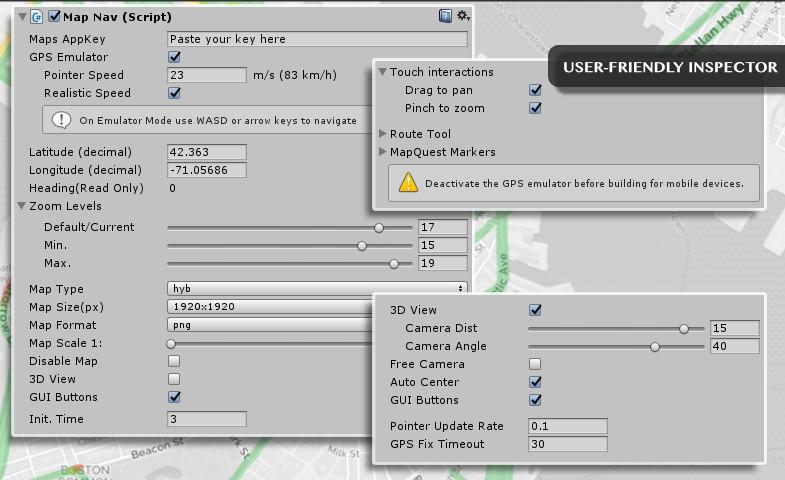 MapNav - Geolocation Toolkit - Asset Store