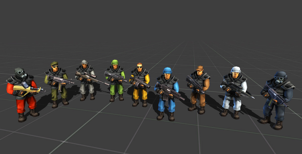 Toon Soldiers v2.0