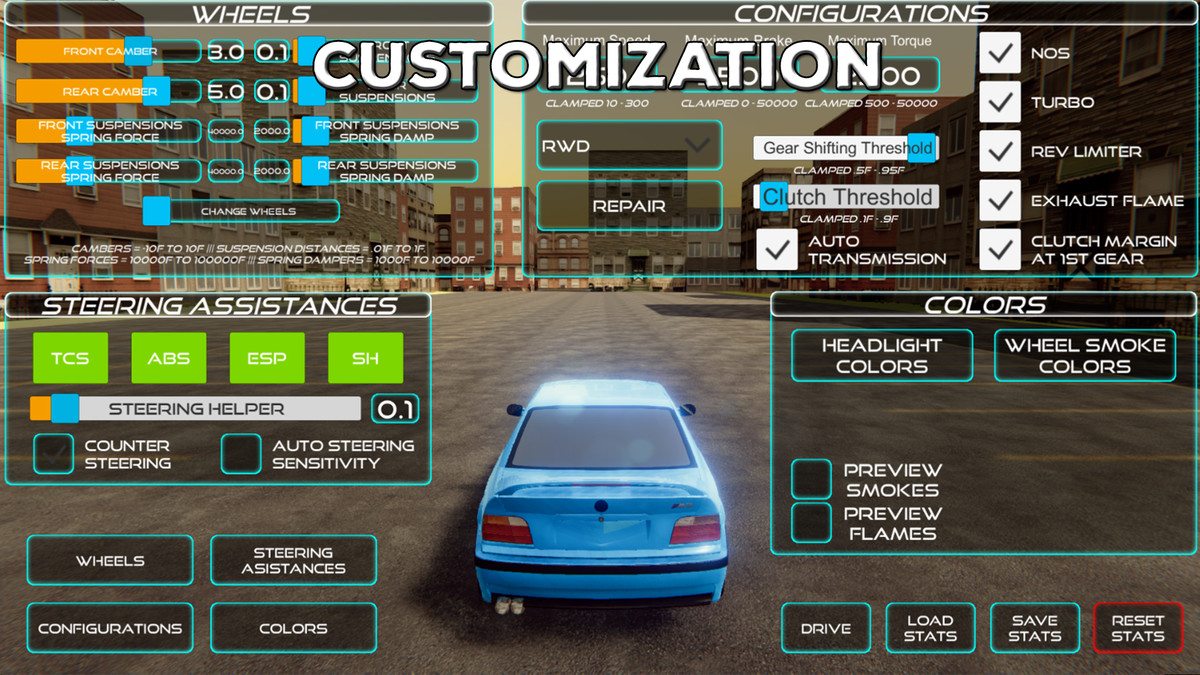 Realistic Car Controller - Asset Store