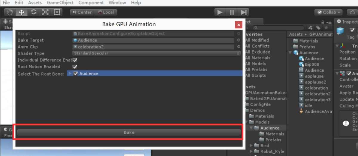 GPU Animation Baker Pro • Tools/Animation • ModelAssets