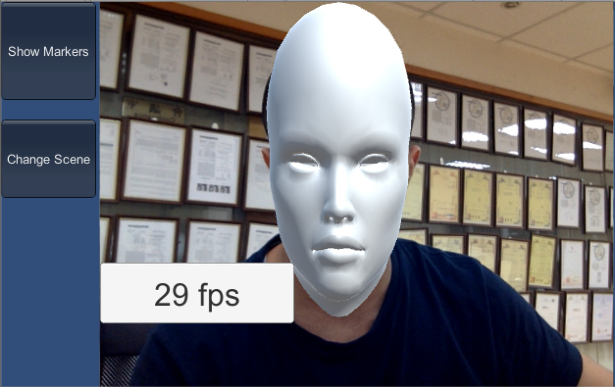 Single Face Tracker Plugin (Lite Version - 30 Face Tracking Points