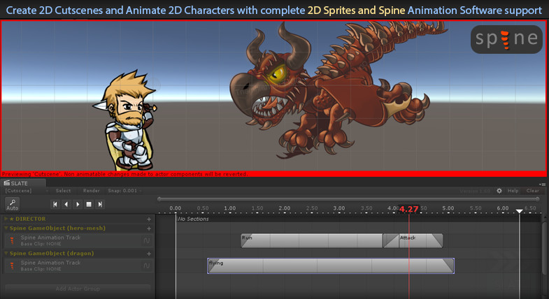Cinematic Sequencer - Slate - Asset Store