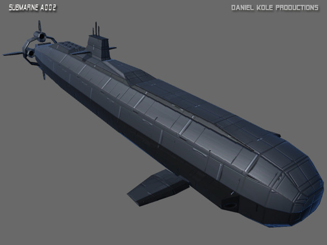 Submarine A002 - Medium - Asset Store