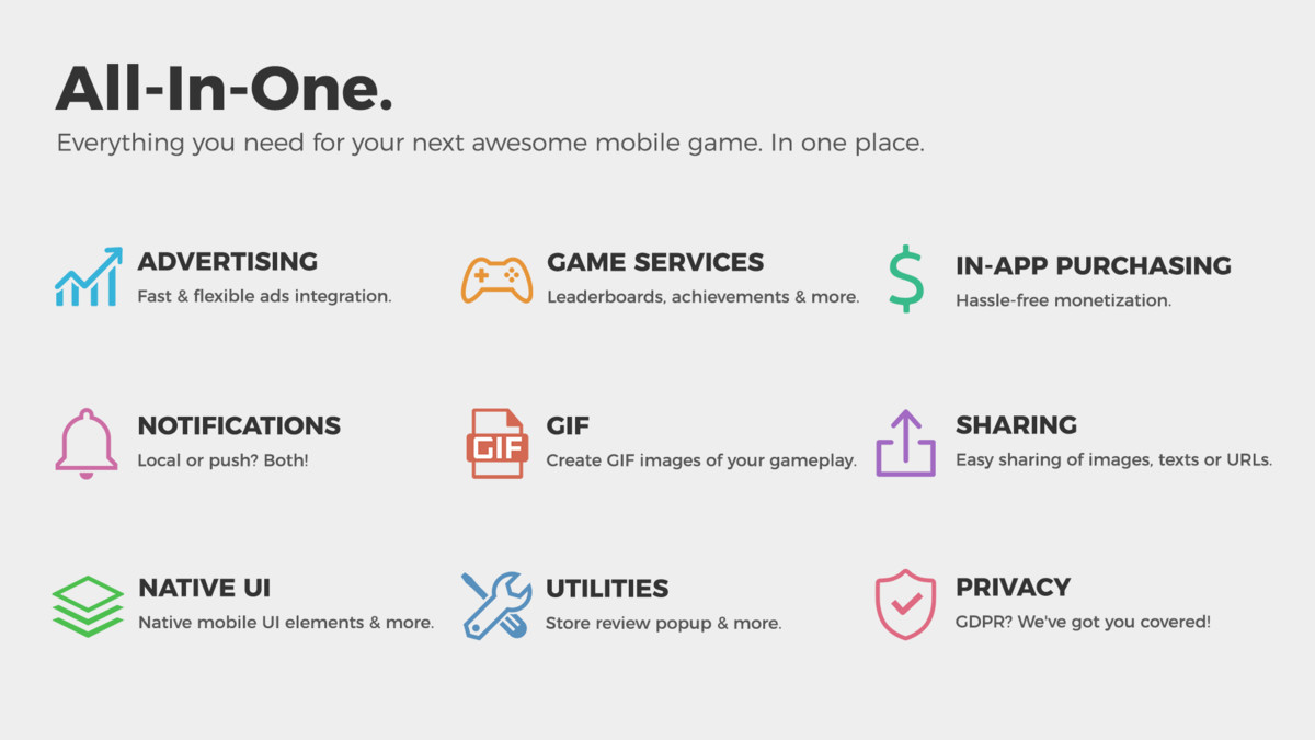 Easy Mobile Pro - Asset Store