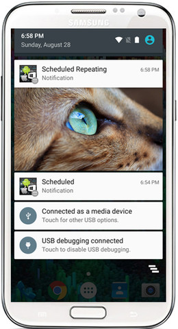 UTNotifications - Professional Local & Push Notification